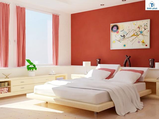 Ốp gạch tường cho phòng ngủ giúp nâng cao tính thẩm mỹ