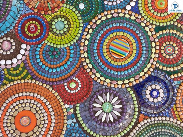 Hóa tiết thu hút nhất của gạch mosaic