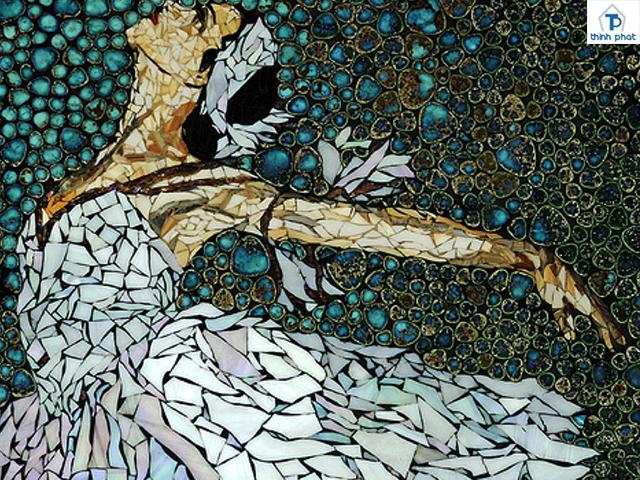 Công năng của gạch mosaic khi sử dụng