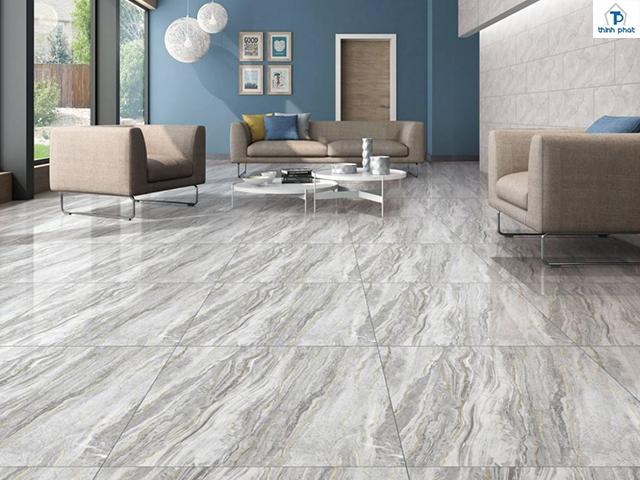 Màu sắc của gạch kết hợp hài hòa cùng phong cách nội thất